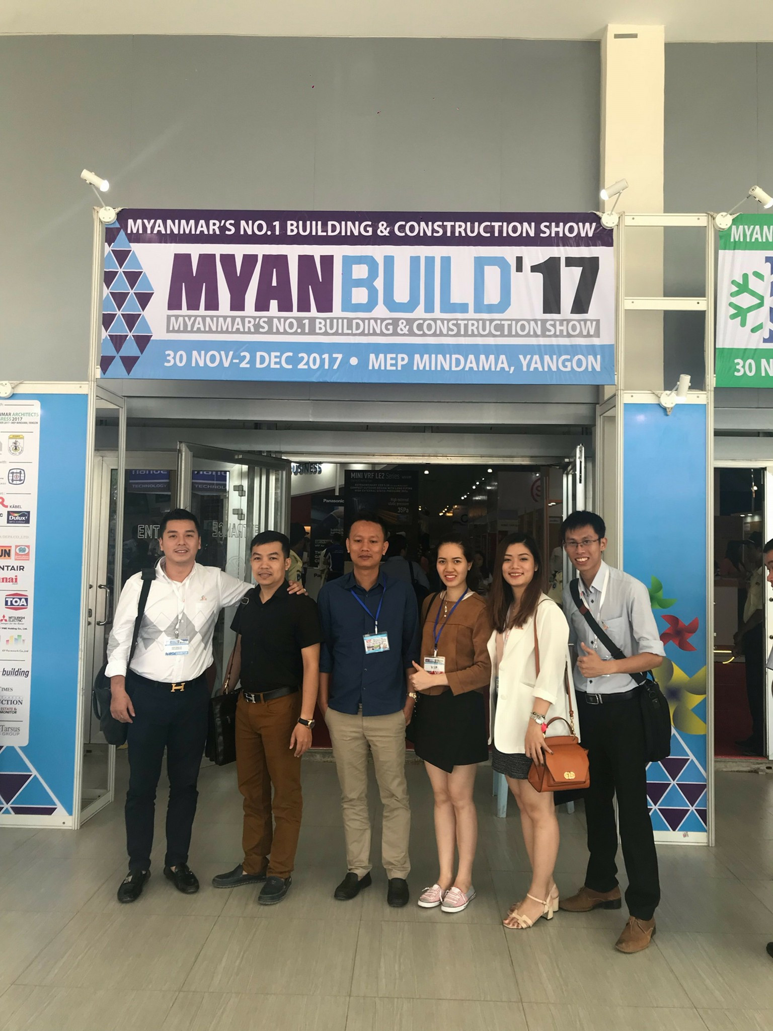 THANK YOU FOR VISITING MYANBUILD 2017 – Steel Builder